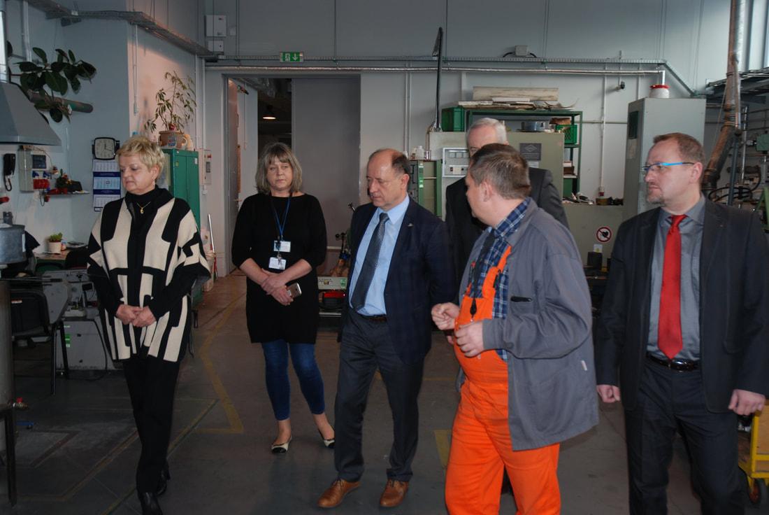 Wizyta Przedstawicieli Uniwersytetu Technicznego w Chemnitz